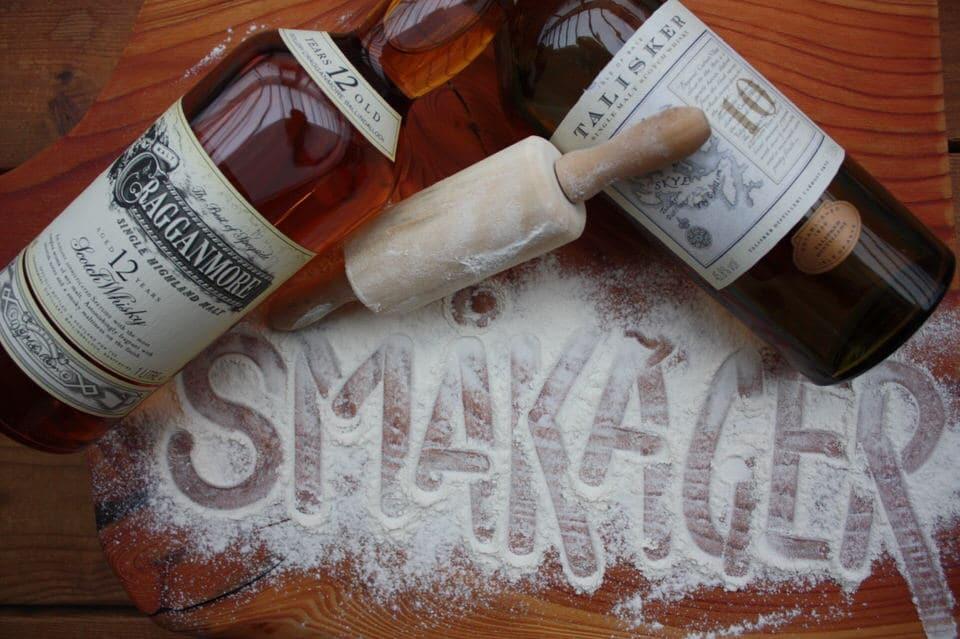 Julesmåkager med whiskey